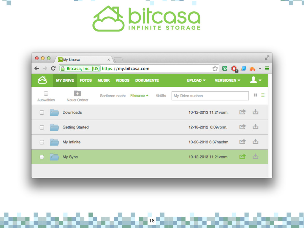 Bitcasa 18