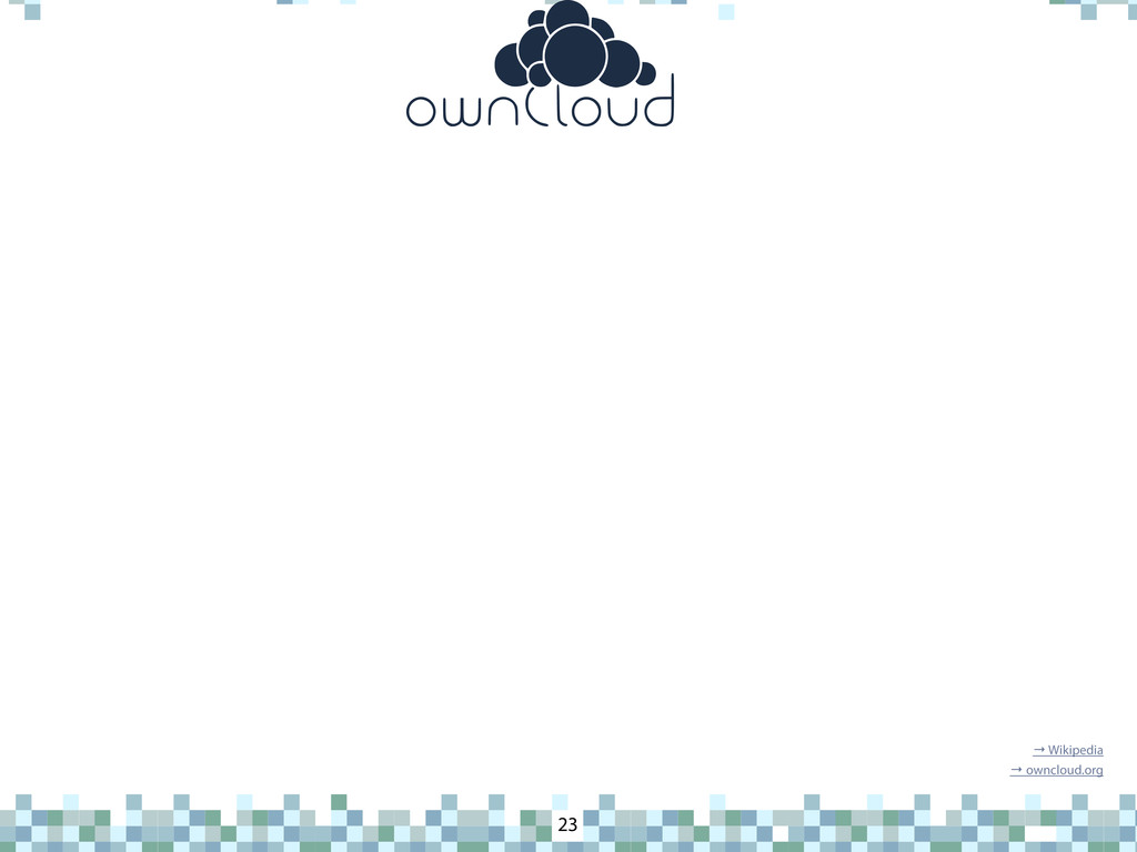 ownCloud 23 → Wikipedia → owncloud.org