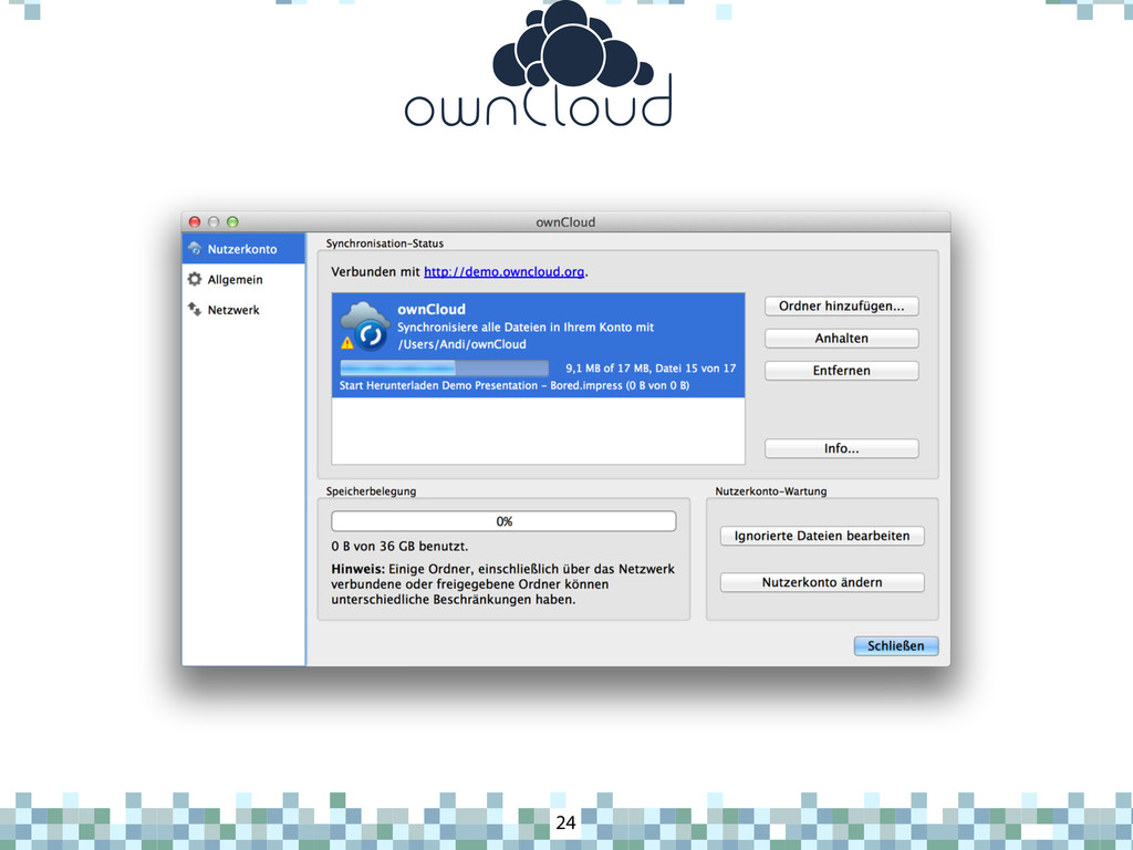 ownCloud 24