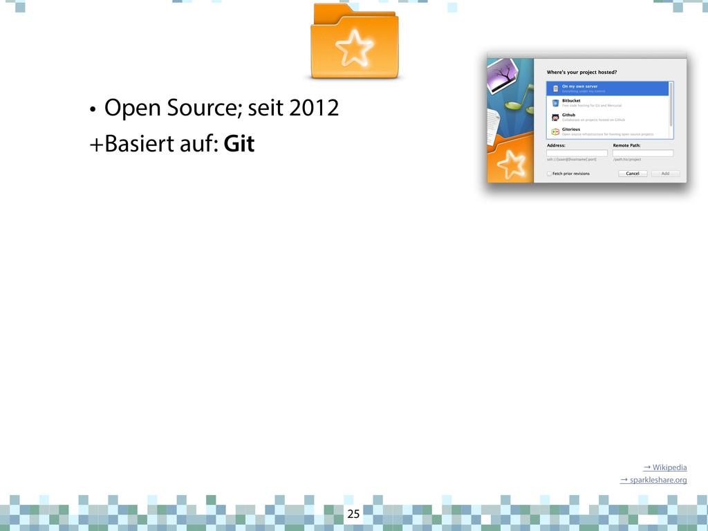 SparkleShare • Open Source; seit 2012 +Basiert ...