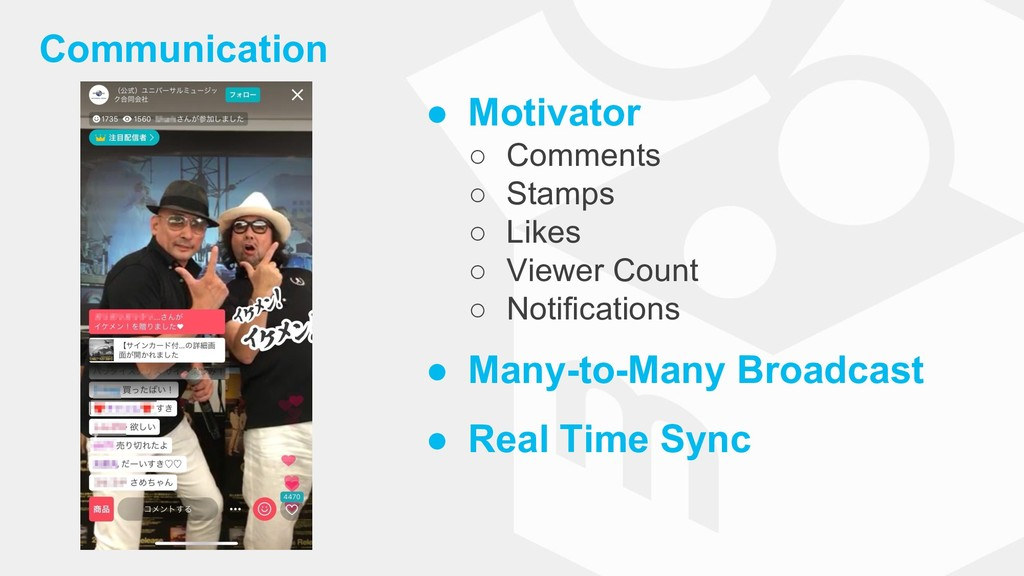 Communication ● Motivator ○ Comments ○ Stamps ○...