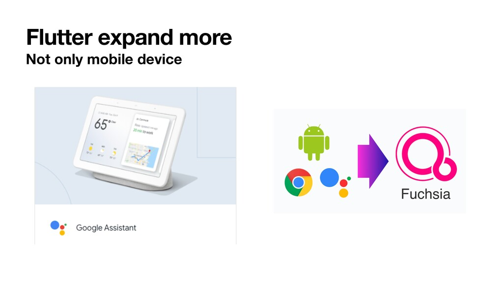 Flutter expand more Not only mobile device