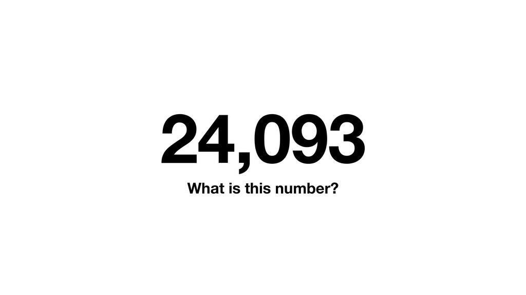 24,093 What is this number?