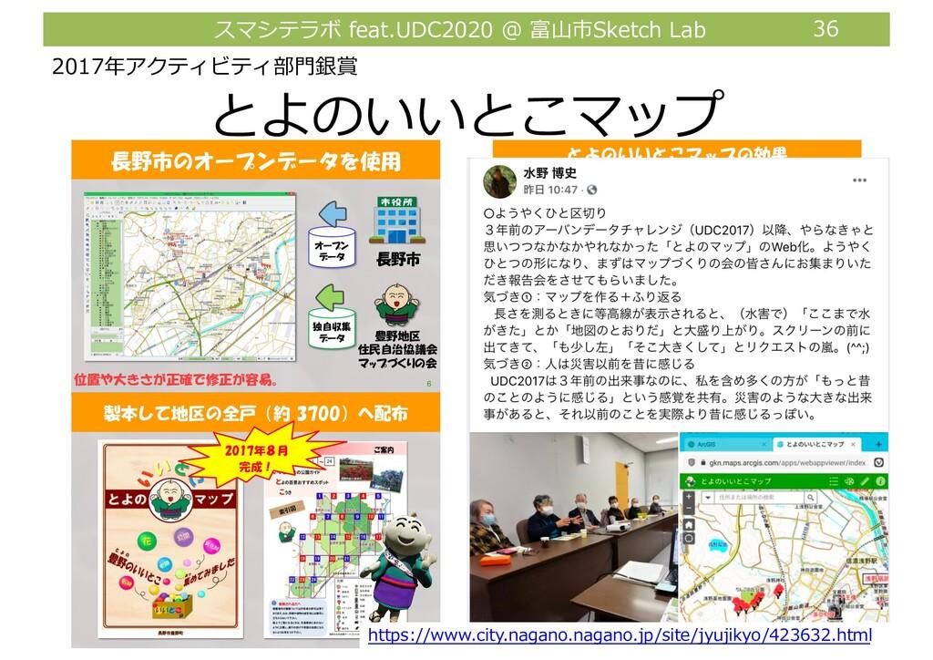 スマシテラボ feat.UDC2020 @ 富⼭市Sketch Lab 36 とよのいいとこマ...