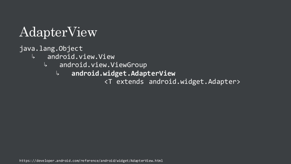AdapterView java.lang.Object ↳ android.view.Vie...
