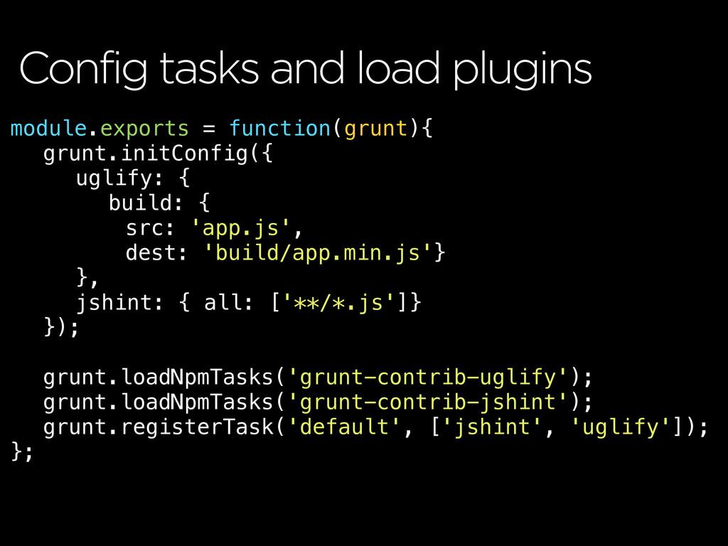 module.exports = function(grunt){ ! grunt.initC...