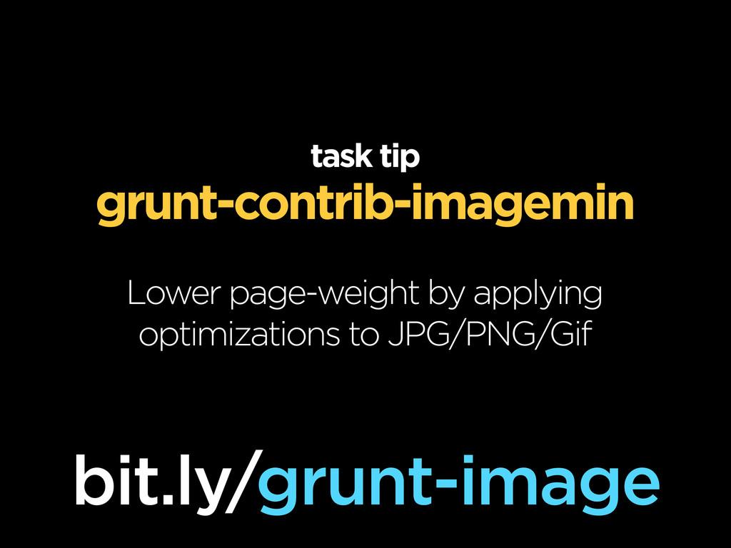 task tip grunt-contrib-imagemin Lower page-weig...
