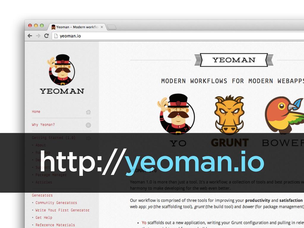 http:/ /yeoman.io