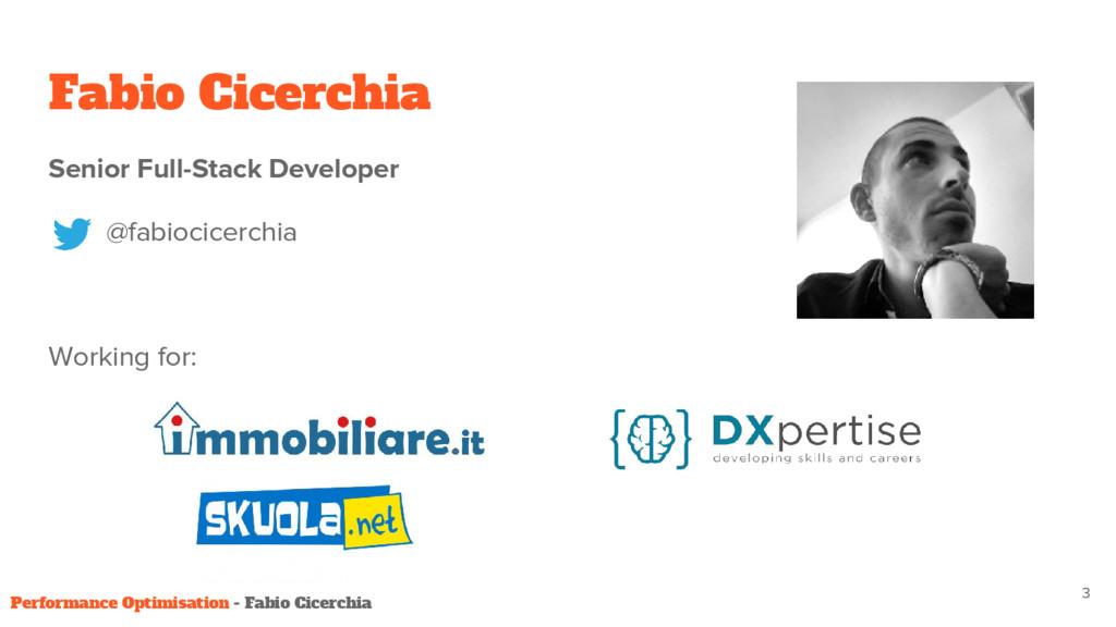 Fabio Cicerchia 3 Senior Full-Stack Developer @...