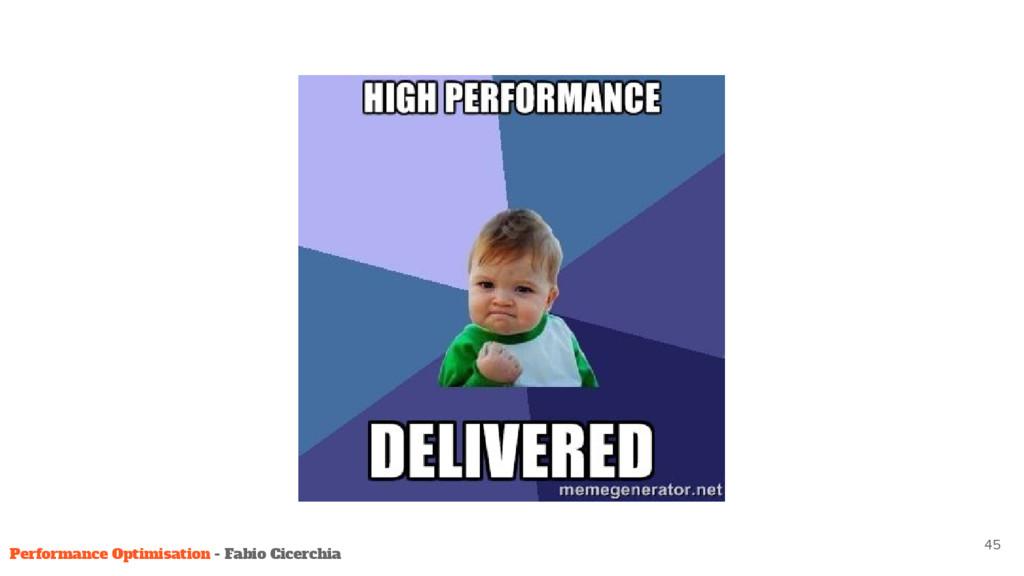 45 Performance Optimisation - Fabio Cicerchia
