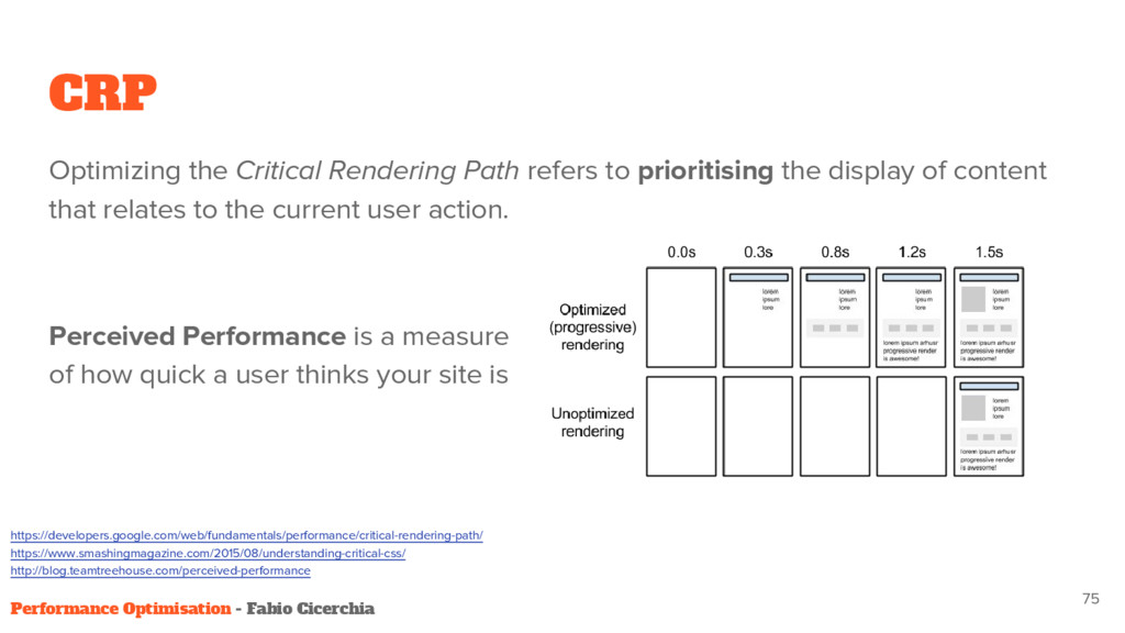 CRP Optimizing the Critical Rendering Path refe...