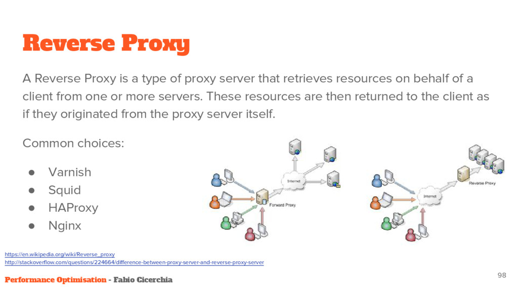 Reverse Proxy A Reverse Proxy is a type of prox...