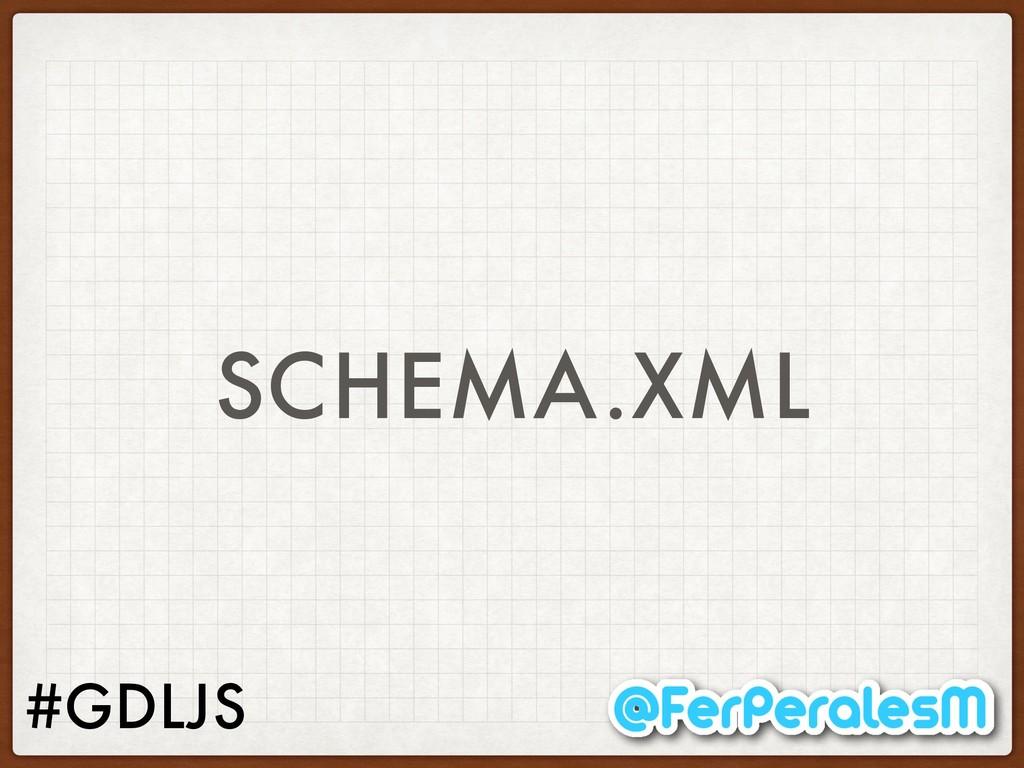 #GDLJS SCHEMA.XML