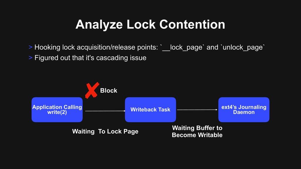 Analyze Lock Contention > Hooking lock acquisit...