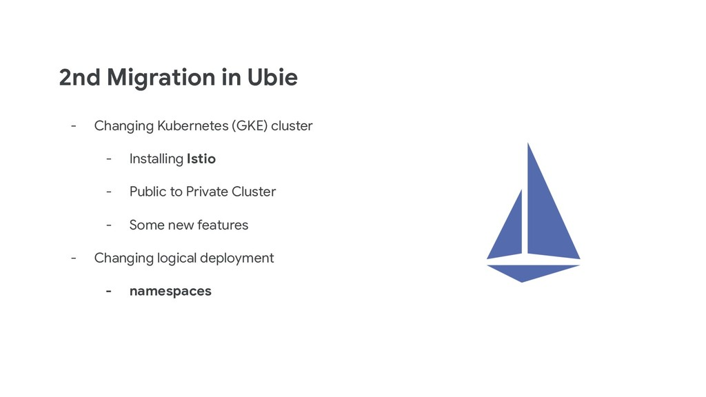 2nd Migration in Ubie - Changing Kubernetes (GK...