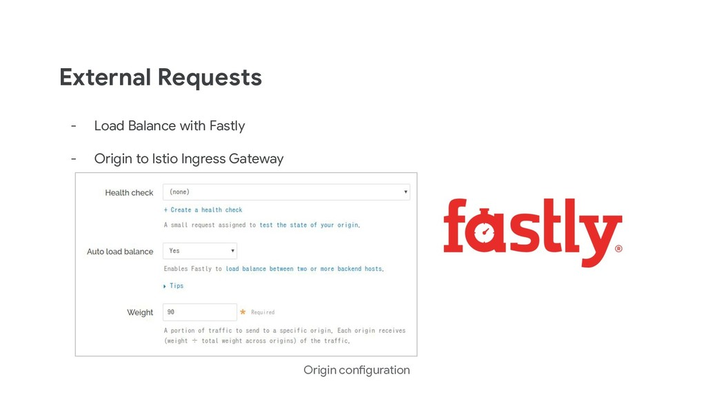 External Requests - Load Balance with Fastly - ...