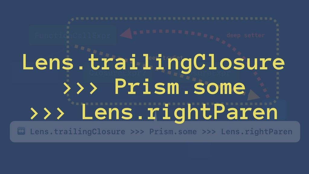 Lens.trailingClosure >>> Prism.some >>> Lens.ri...
