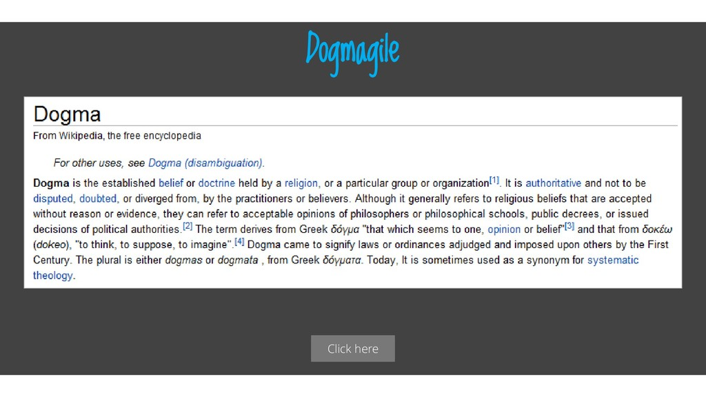 Click here Dogmagile