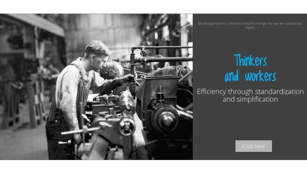 Click here Thinkers and workers Efficiency thro...