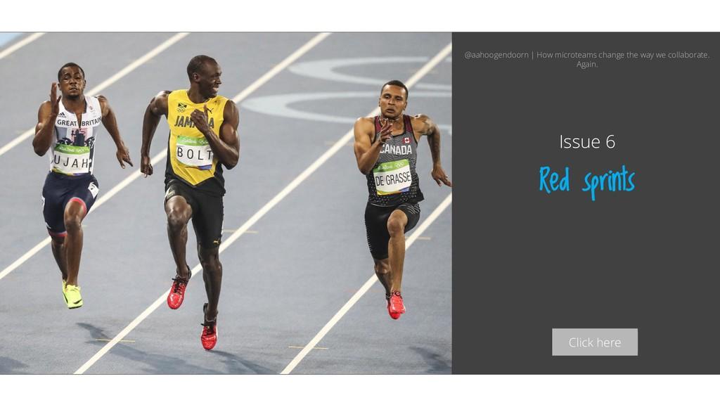 Click here Red sprints Issue 6 @aahoogendoorn |...