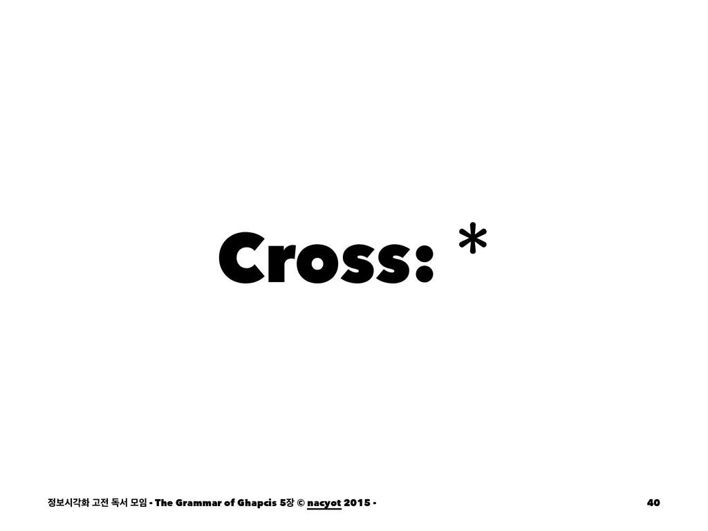 Cross: ࠁदпച Ҋ ةࢲ ݽ - The Grammar of Ghapcis ...