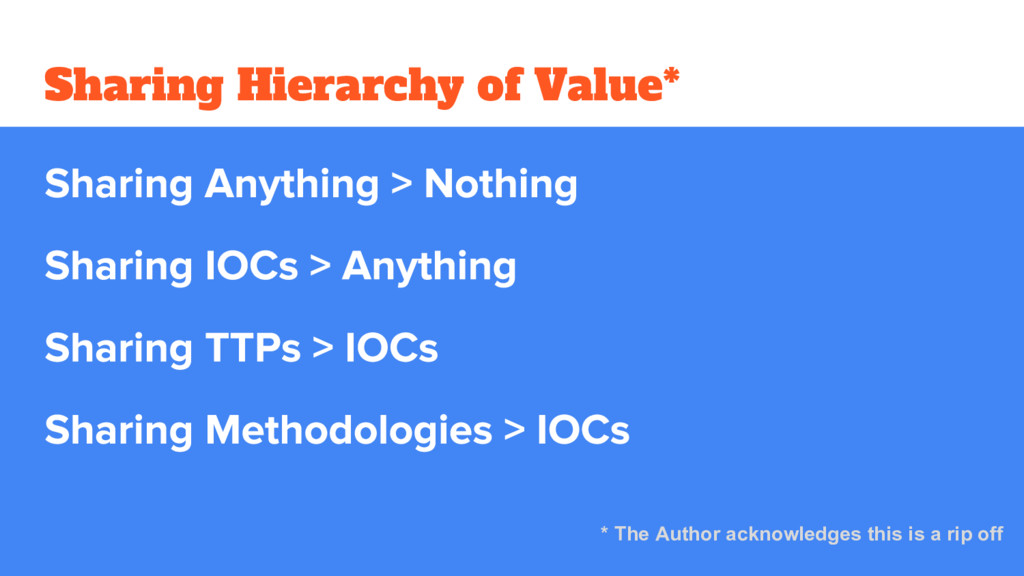 Sharing Hierarchy of Value* * The Author acknow...