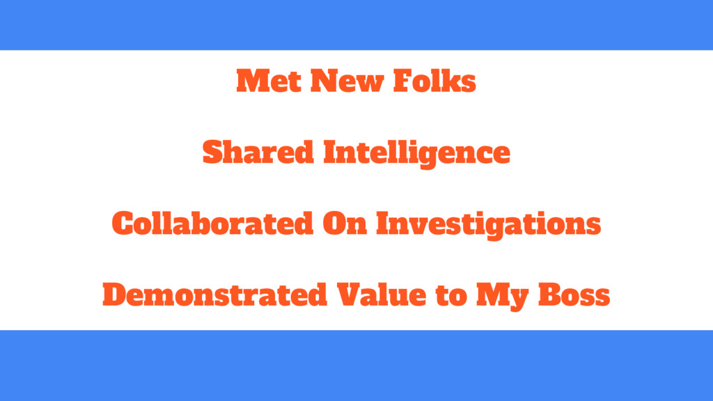 Met New Folks Shared Intelligence Collaborated ...