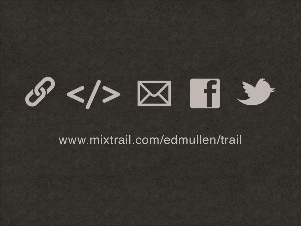 www.mixtrail.com/edmullen/trail