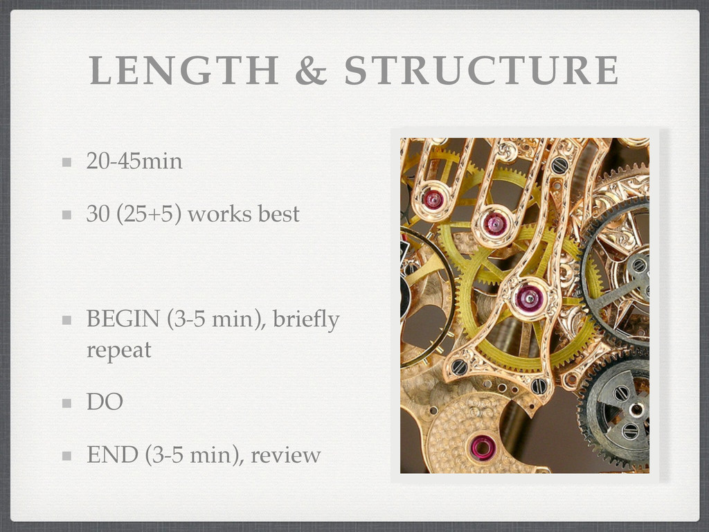 LENGTH & STRUCTURE 20-45min! 30 (25+5) works be...
