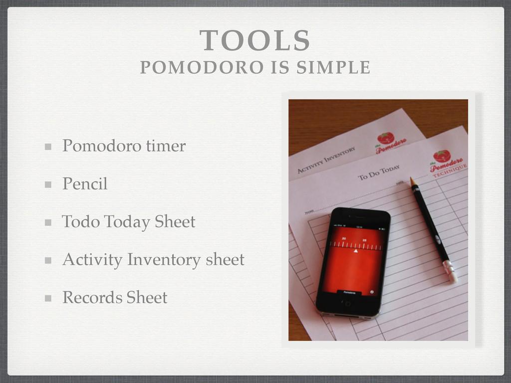 TOOLS POMODORO IS SIMPLE Pomodoro timer! Penci...