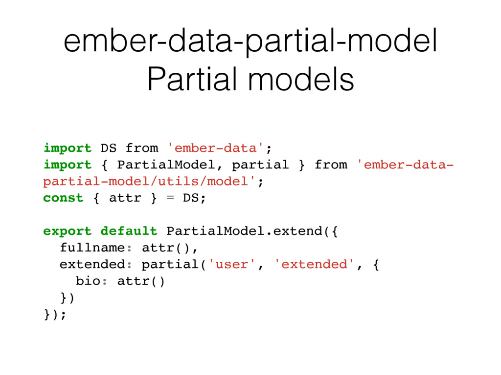 ember-data-partial-model Partial models // app/...
