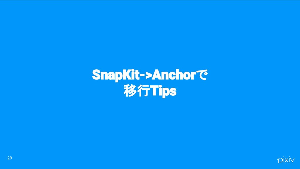 29 SnapKit->Anchorで 移行Tips