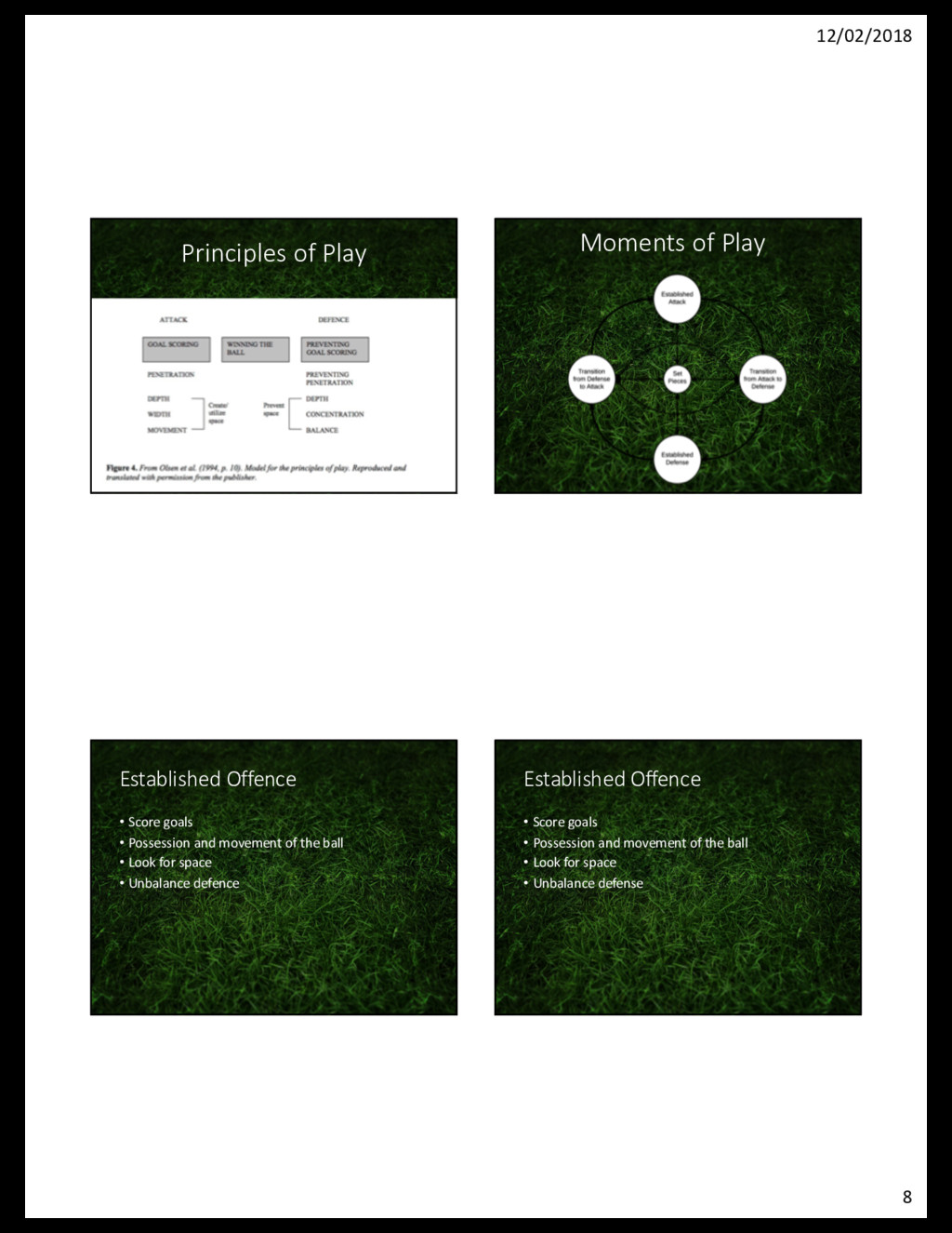 12/02/2018 8 Principles of Play Moments of Play...