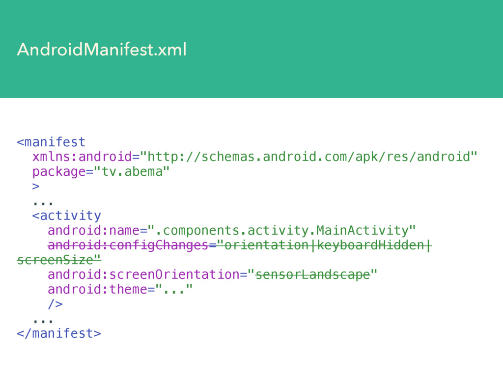 "AndroidManifest.xml <manifest xmlns:android=""ht..."