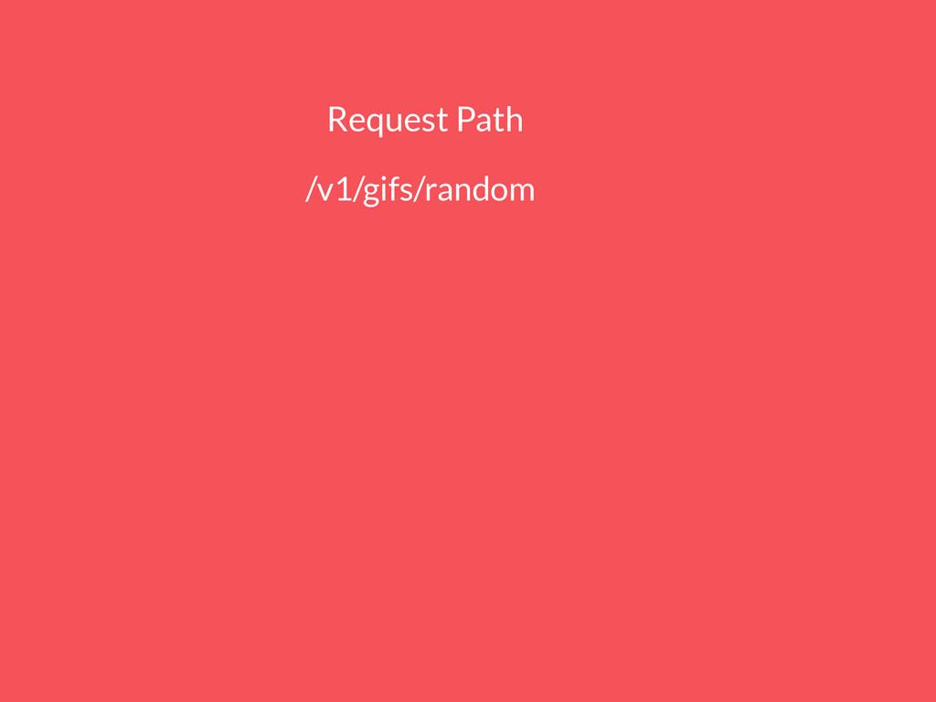 Request Path http://api.giphy.com/v1/gifs/rando...