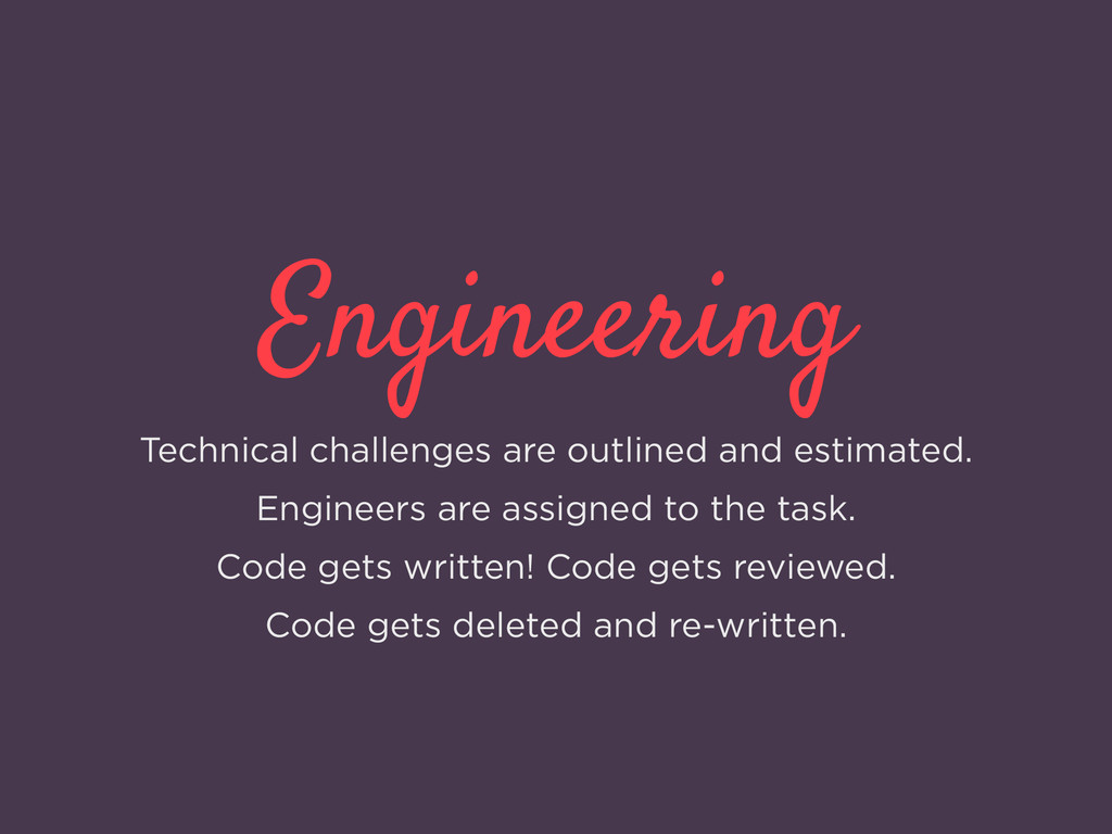 Engineering Technical challenges are outlined a...