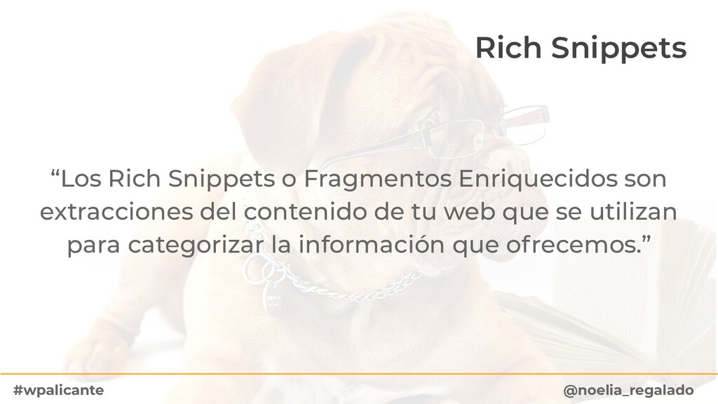 """Rich Snippets """"Los Rich Snippets o Fragmentos E..."""