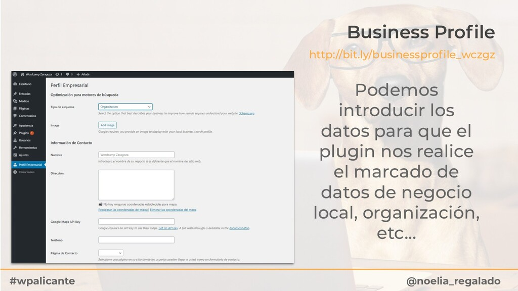 Business Profile http://bit.ly/businessprofile_wc...