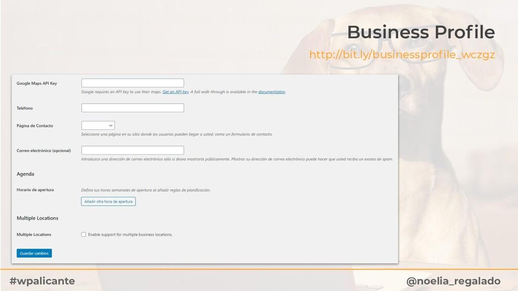 @noelia_regalado #wpalicante Business Profile ht...