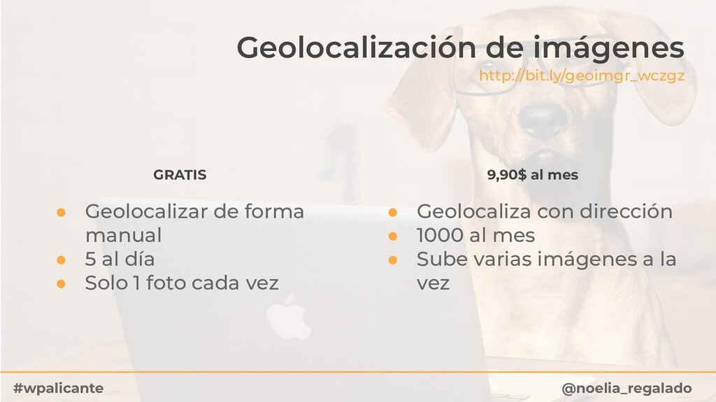 Geolocalización de imágenes http://bit.ly/geoim...