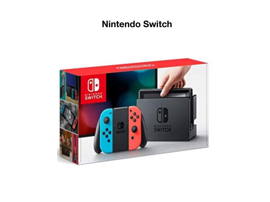 ܦӦऀݽಠͰ͋Δ Nintendo Switch