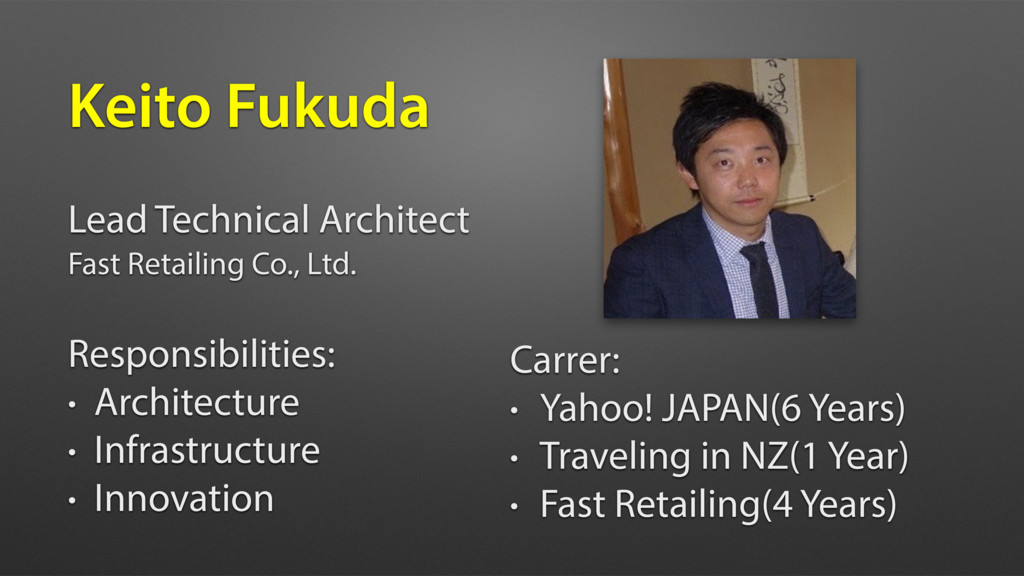 Lead Technical Architect Fast Retailing Co., Lt...