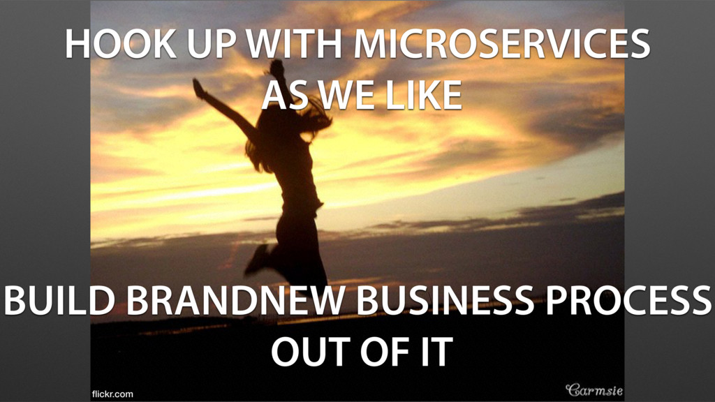 HOOK UP WITH MICROSERVICES AS WE LIKE BUILD BRA...