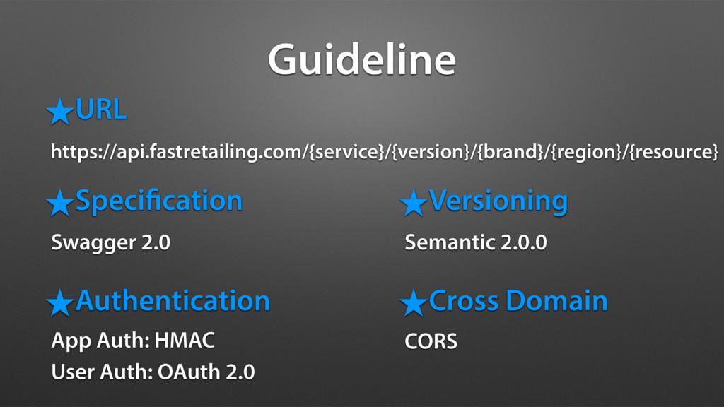 Guideline ˒URL https://api.fastretailing.com/{s...