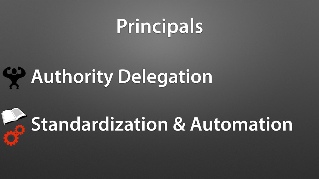 Principals Authority Delegation Standardization...