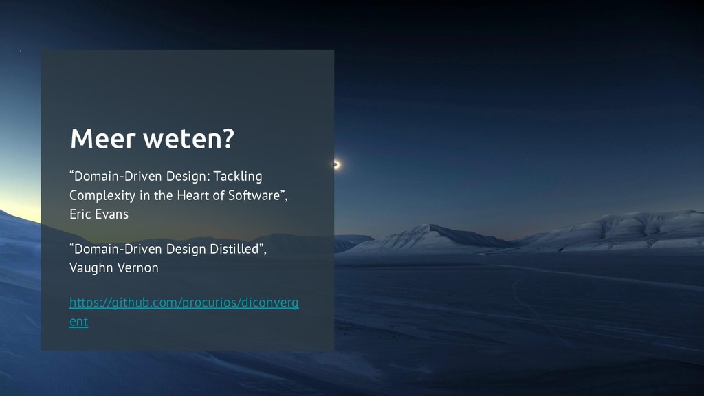 "Meer weten? ""Domain-Driven Design: Tackling Com..."