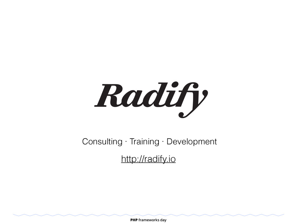 Consulting · Training · Development http://radi...