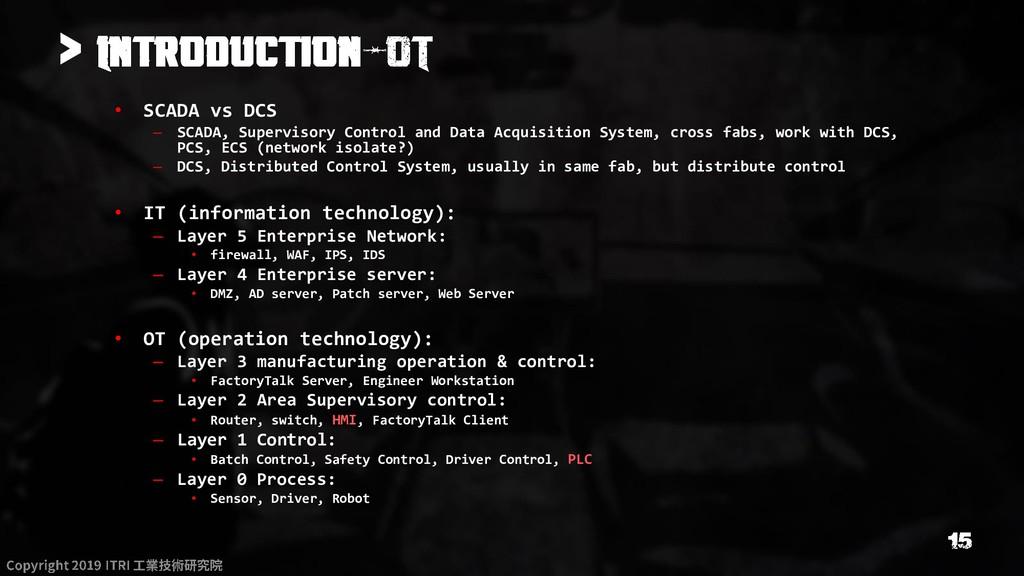 > • SCADA vs DCS – SCADA, Supervisory Control a...