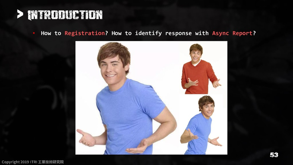 > • How to Registration? How to identify respon...