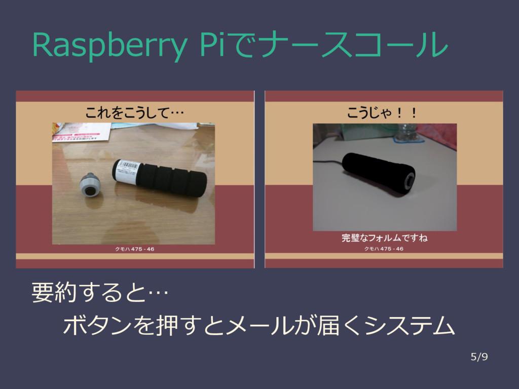 Raspberry Piでナースコール 要約すると… ボタンを押すとメールが届くシステム 5/9